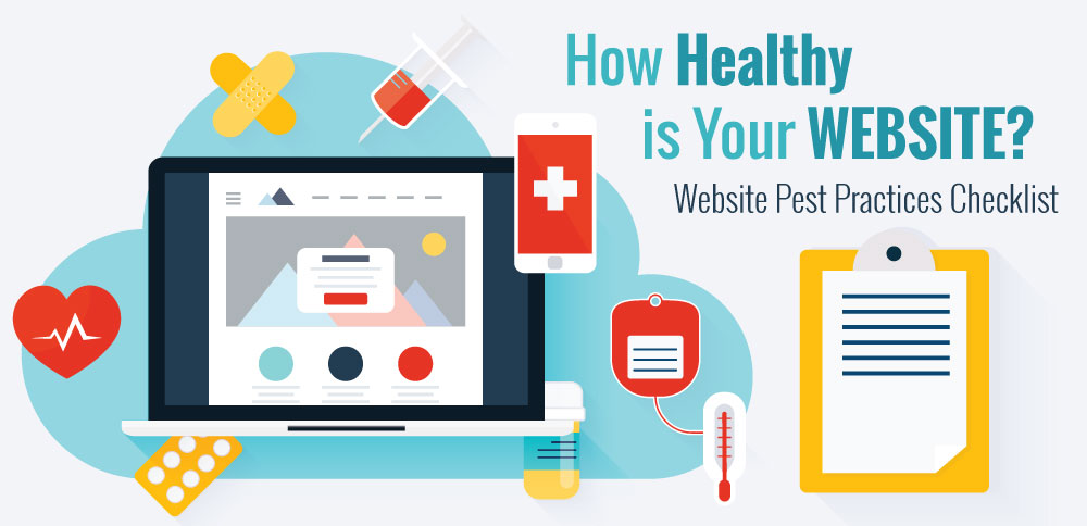 Website Best Practices - Checklist for a healthy website
