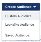 how to create a facebook audience for business and advertising