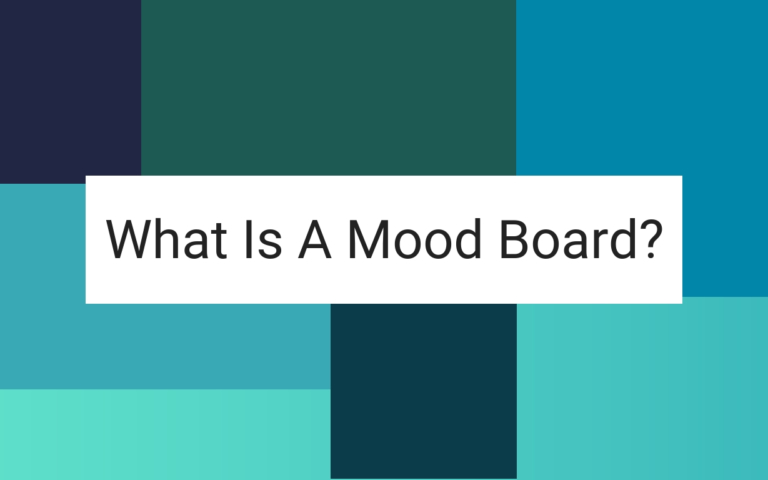 What is a mood board?